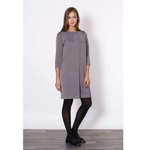 Sukienka Model Lenora 20592 Grey, Click Fashion