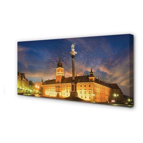 Obrazy na płótnie warszawa stare miasto zachód słońca marki Tulup.pl