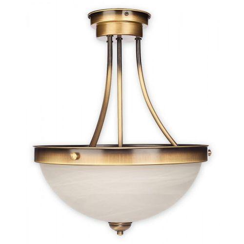 Plafon lampa sufitowa sato 2x60w e27 patyna w2 pat marki Lemir