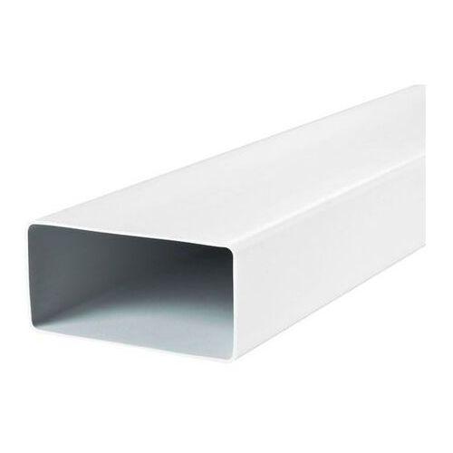 Kanał płaski wentylacyjny pvc kp55-10 - 55x110 1,0mb marki Awenta