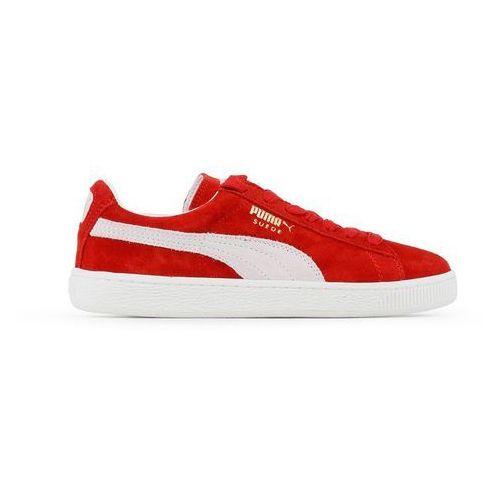 Buty Unisex Puma Sneakersy Suede Classic 352634-05 Czerwone