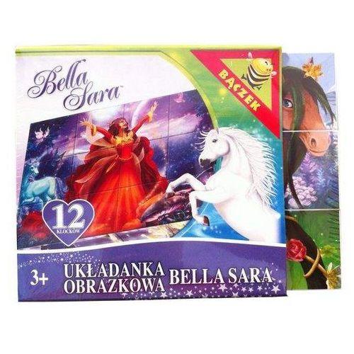 Układanka klocki bella sara 12 marki Tupiko
