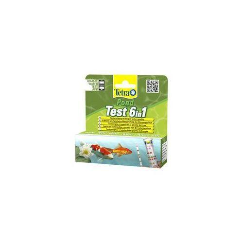 pond test 6in1 /25 pasków - darmowa dostawa od 95 zł! marki Tetra