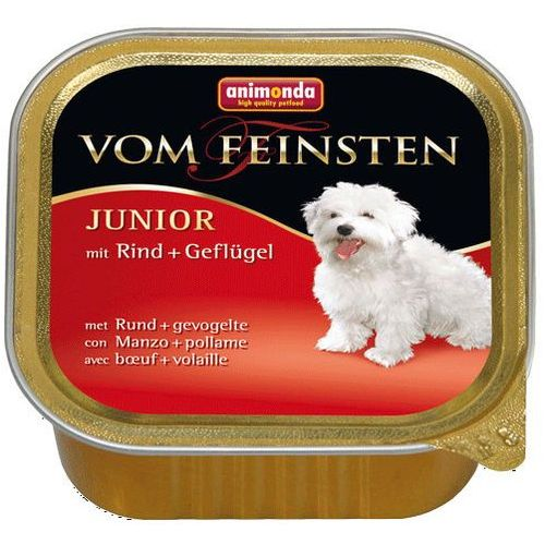 Animonda vom Feinsten DOG JUNIOR wołowina i drób (rind&geflugel) 150g