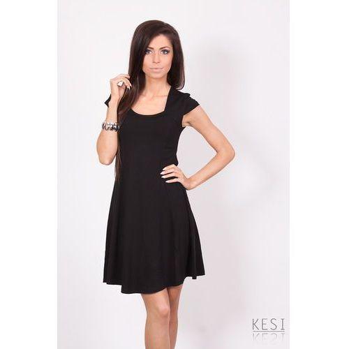 Sukienka w 3816 czarny - czarny marki Romaboma