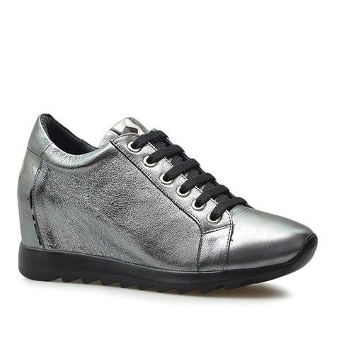 Sneakersy 058477219k srebrne, Venezia