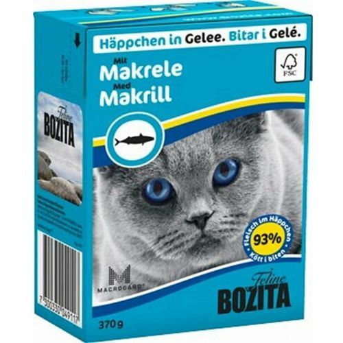 Bozita Feline 370g Makrela w Galaretce - Makrela, KBOZ027_PAK12