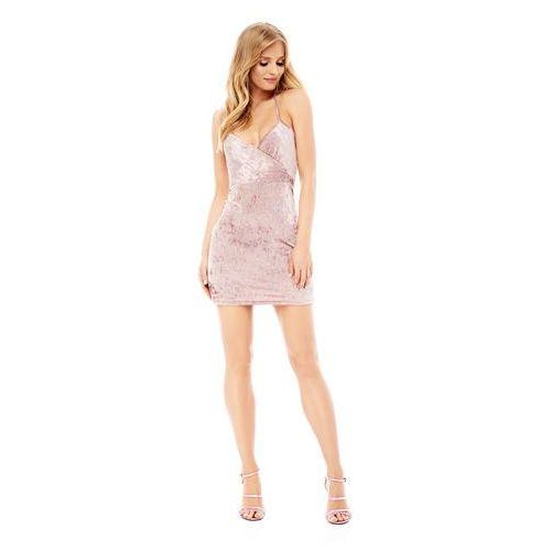 Sukienka Giada w kolorze różowym - OKAZJE