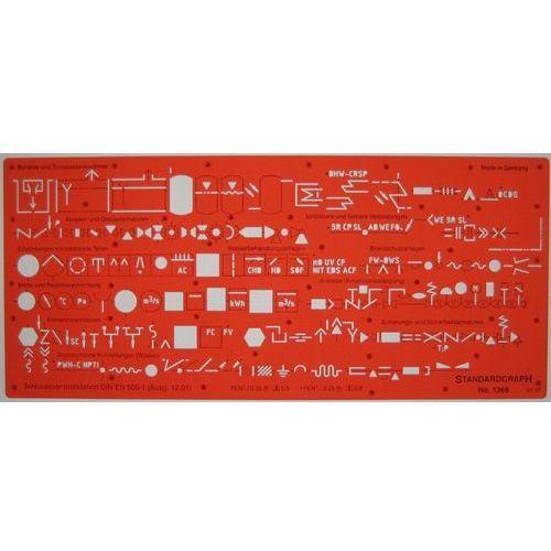 Szablon sanitarny DIN EN 806-1 x1