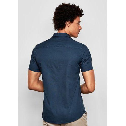 Q/S designed by koszula męska XXL, ciemnoniebieski, kolor niebieski