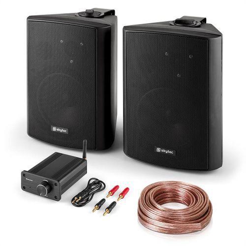 Zestaw hi-fi pa para głośników z mini wzmacniaczem bluetooth marki Elektronik-star