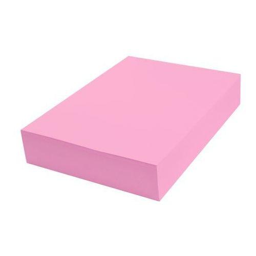 Papier techniczny kolorowy 100 ark A4 różowy landrynkowy 160g