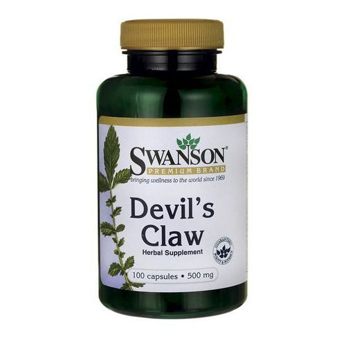 Swanson Devil's Claw (Diabelski Pazur) 500mg 100 kaps.