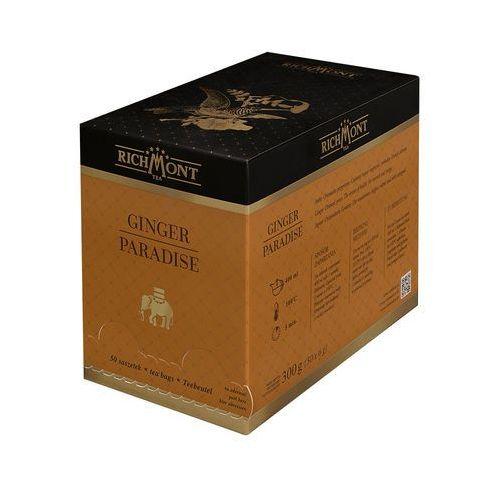 Herbata owocowa o smaku orientalnych przypraw i kardamonu, 50 saszetek | , ginger paradise marki Richmont