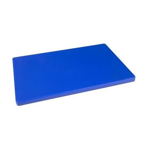 Deska do krojenia | duża | duża grubość | niska gęstość | niebieska marki Hygiplas