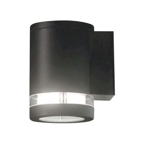 Zewnętrzna LAMPA ścienna MAGNUS 1 Elstead ogrodowa OPRAWA elewacyjny kinkiet tuba outdoor IP44 ciemnoszara (5024005372912)