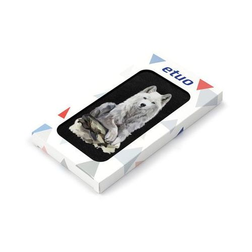 Samsung Galaxy S5 Mini - etui na telefon Flip Fantastic - wilk