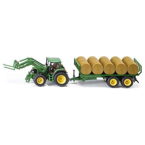 Siku Traktor z ładowarką i słomą w belach (4006874038626)