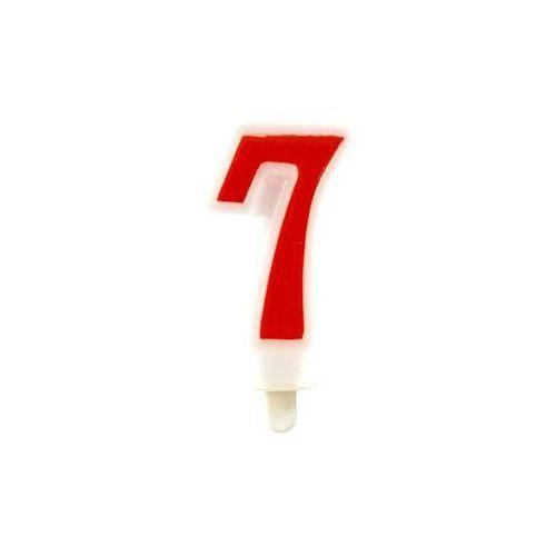 Tamipol Świeczka cyferka 7 - 1 szt. (5907509905681)