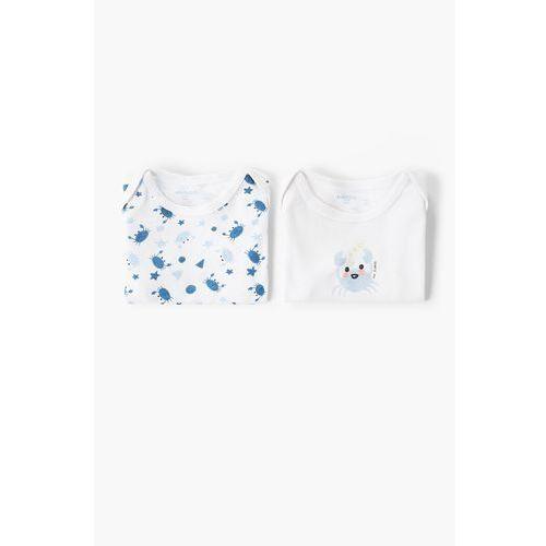 - body niemowlęce 62-92 cm (2 sztuki) marki Mango kids