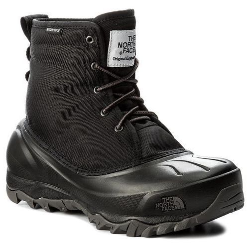 Śniegowce THE NORTH FACE - Tsumoru Boot T93MKTWE3 Tnf Black/Dark Gull Grey, kolor czarny