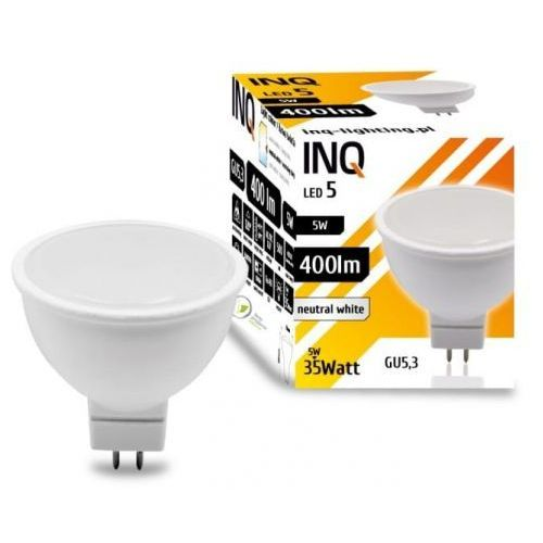Żarówka led gu5.3 5w mr16 4000k lighting lr120nw marki Inq