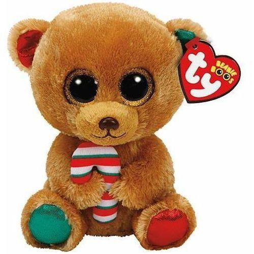 Beanie Boos Bella - Brązowy Miś ze słodyczem 24cm (0008421372515)