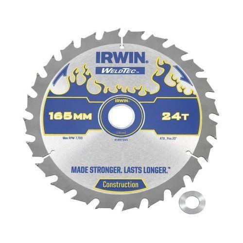 Irwin weldtec Tarcza do pilarki tarczowej 165 mm/24t c/20(16)