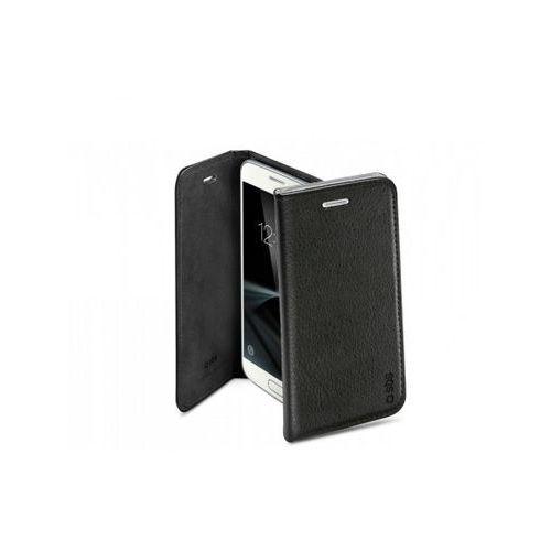 SBS Book case PU Galaxy S7 czarne