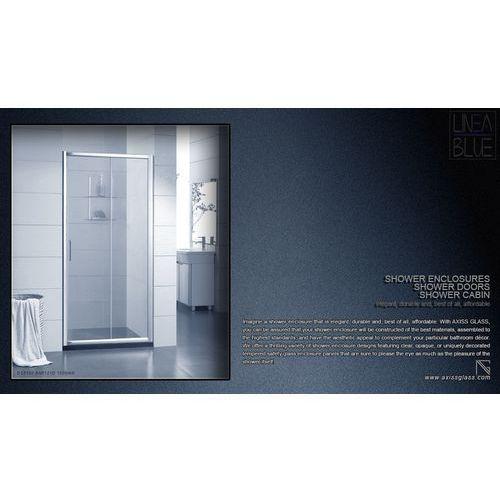 Drzwi prysznicowe an6121d 1000mm marki Axiss glass