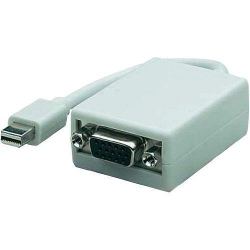 Przejściówka, adapter VGA, DisplayPort Manhattan 322508-CG, [1x Złącze męskie mini-DisplayPort - 1x Złącze żeńskie VGA ] - sprawdź w wybranym sklepie