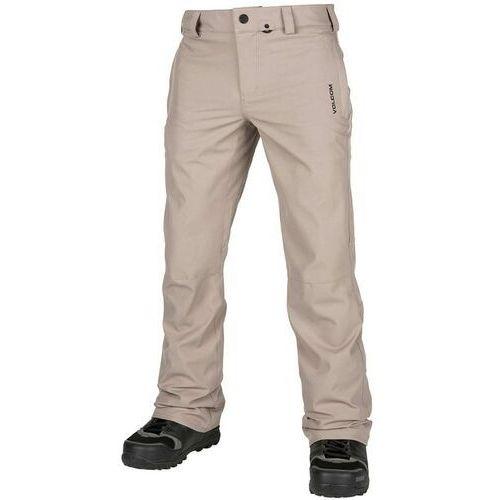 Spodnie - klocker tight pant shepherd (she) rozmiar: l marki Volcom