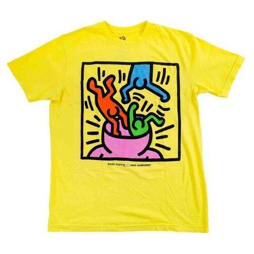 koszulka ALIEN WORKSHOP - Haring Head Change Yellow (ZLUTA) rozmiar: S, 1 rozmiar