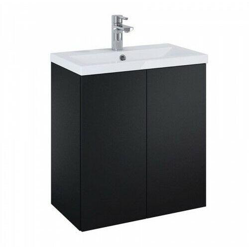 ELITA SET szafka + umywalka Kido 60 2D black matt 168097, 168097