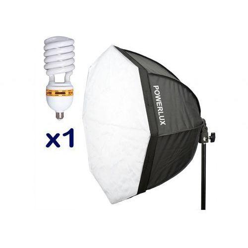 Funsports światła ciągłego OKT-501 z softboxem oktagonalnym 50cm + 1 świetlówka 30W