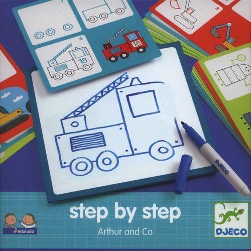 Krok po kroku eduludo - Artur z kategorii Pozostałe zabawki edukacyjne