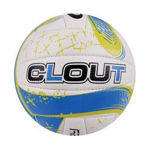 Piłka siatkowa  834043 clout ii żółto-niebieski (rozmiar 5) marki Spokey