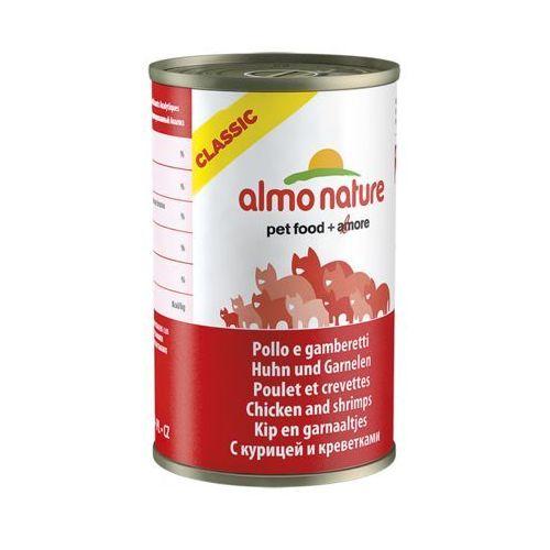 kurczak z krewetkami - puszka 12x140g od producenta Almo nature
