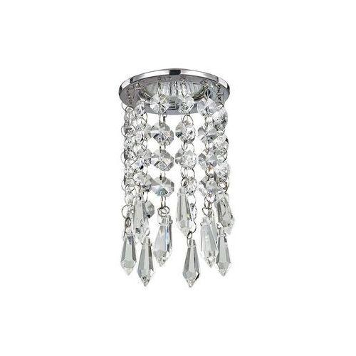 107684 - oprawa wpuszczana kryształowa 1xgu10/28w/230v chrom marki Ideal lux