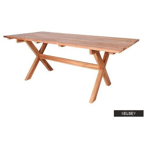 SELSEY Stół ogrodowy Ivaran 200x90 cm (5903025384498)
