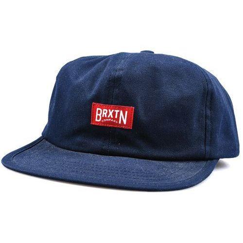 płaska czapka BRIXTON - Langley Navy (NAVY), kolor niebieski