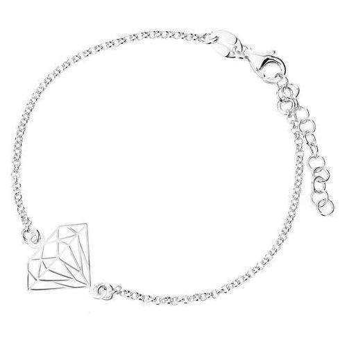 Infinity Biżuteria srebrna - bransoletka damska npbk0021