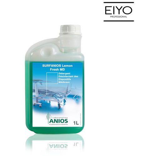 Surfanios lemon fresh md - preparat do dezynfekcji i mycia powierzchni wyrobów medycznych oraz wyposażenia - 1 l marki Medilab