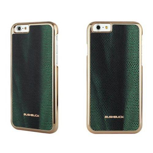 baronage special edition - etui skórzane do iphone 6s plus / iphone 6 plus (zielony) marki Bushbuck
