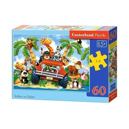 Puzzle 60 elementów Softies on Safari bpz