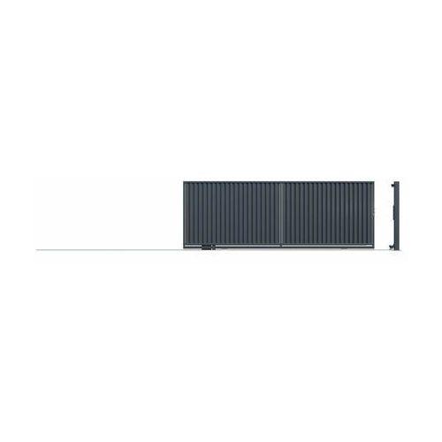 Brama przesuwna bez przeciwwagi topaz 400 x 152 cm lewa marki Polargos
