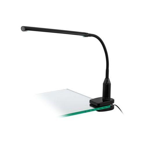 Lampa stołowa Eglo Laroa 96437 lampka klips 1x4,5W LED czarna (9002759964375)