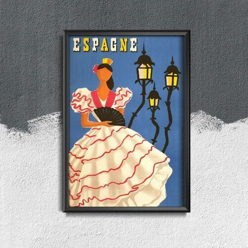 Retro plakat retro plakat hiszpania marki Vintageposteria.pl