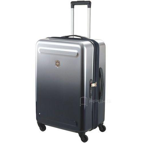 etherius gradient średnia poszerzana walizka 67 cm / szara - steel marki Victorinox
