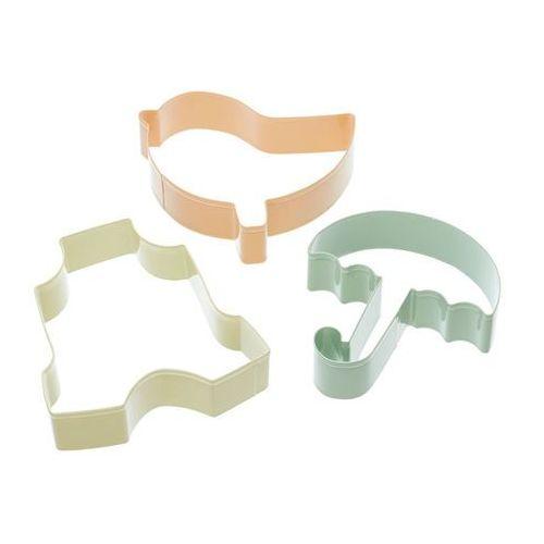 Foremki do ciastek Baby Kitchen Craft 3x ODBIERZ RABAT 5% NA PIERWSZE ZAKUPY (5028250545701)